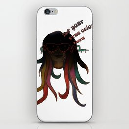 The Real You. iPhone Skin