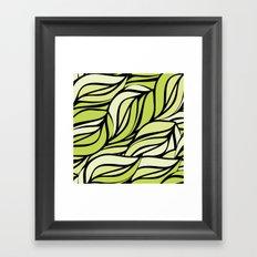 Macro texture Framed Art Print