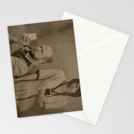 Wet plate of the modern age Stationery Cards