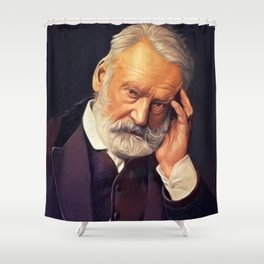 Victor Hugo, Literary Legend Shower Curtain