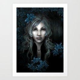 Moonlight lullaby Art Print