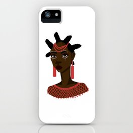 Nsukka woman iPhone Case