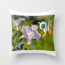 mothra-chan Throw Pillow