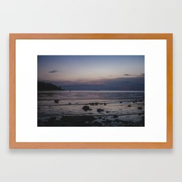 Fishing Koh Phangan Framed Art Print