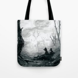 The Spirit Lives On Tote Bag