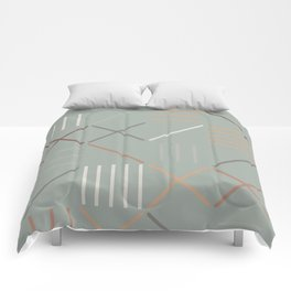 Geometric Shapes 08 Comforters