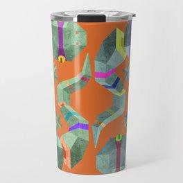 Polygonal gecko Travel Mug