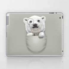 POCKET POLAR BEAR Laptop & iPad Skin