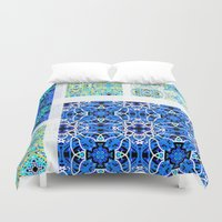 calm Duvet Covers featuring Calm by k_c_s