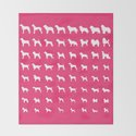 All Dogs (Pink) by erinreadesign