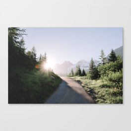 Morning Hike Canvas Print