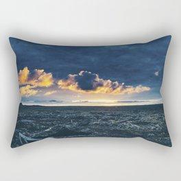 Fiery Iceland Rectangular Pillow