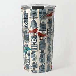 steampunk towers Travel Mug