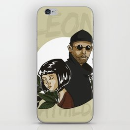 Leon & Mathilda iPhone Skin