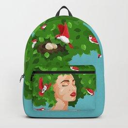 Bird Lady Backpack
