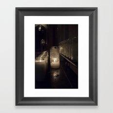 Light a candle, Say a prayer. Framed Art Print