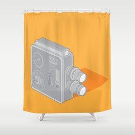 Meopta Camera Shower Curtain