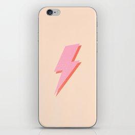 Thunderbolt: The Peach Edition iPhone Skin