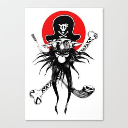 The Pirate Dog Canvas Print