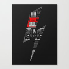 Electro Music  Canvas Print
