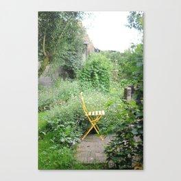 french garden Canvas Print