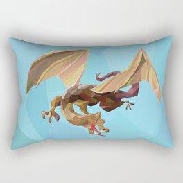 Against the Dragon Rectangular Pillow