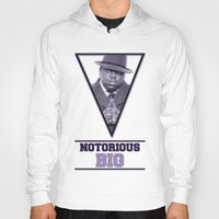 notorious big Hoodies featuring *Notorious BiG* by Gold Blood