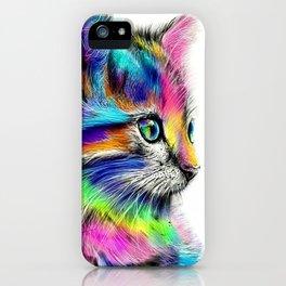 CAT--FluO iPhone Case