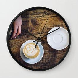 Making A Coffee Wall Clock