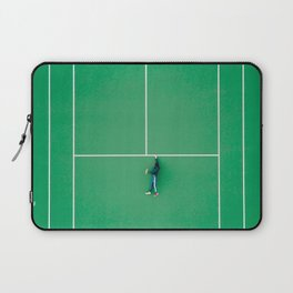 Tennis court green Laptop Sleeve