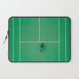 Tennis court green Laptop Sleeve