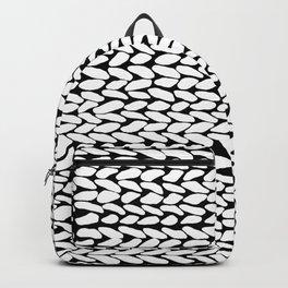 Missing Knit On Side Backpack