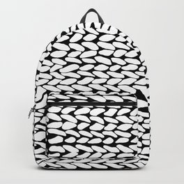Missing Knit On Side Backpack