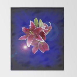 The Stargazer Night Throw Blanket