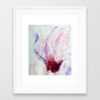 magnolia Framed Art Prints featuring Magnolia by Kay Weber