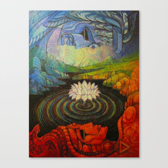 Earth-and-Sky Canvas Print
