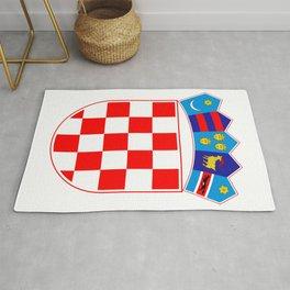 Croatia Coat of Arms Rug