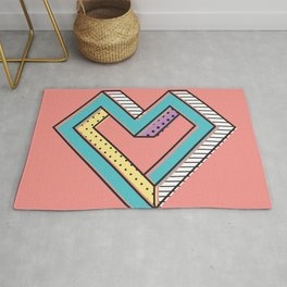 le coeur impossible (nº 2) Rug