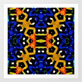 Abstract Piano Mash Art Print