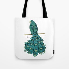 Special Chimera: The Peahawk Tote Bag