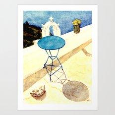 Greek Memories No. 5 Art Print