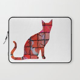 Quilted Cat Laptop Sleeve