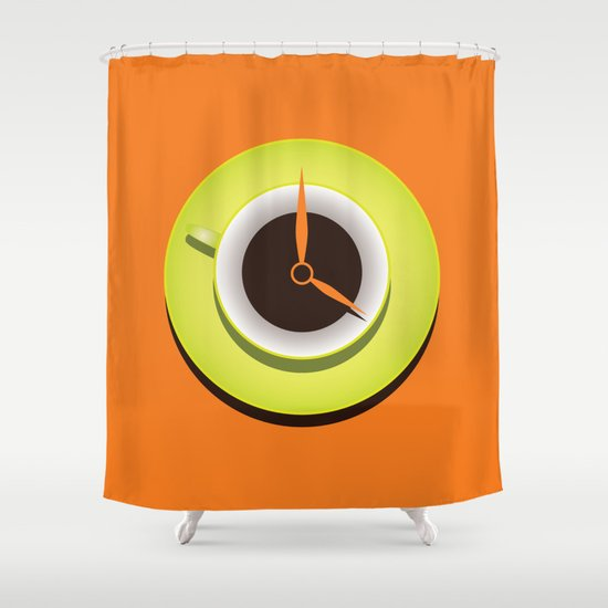 It's Coffee Time Shower Curtain