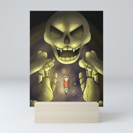 Skeletron- Terrarias Mini Art Print