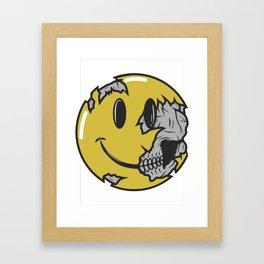 Keep Smile Framed Art Print