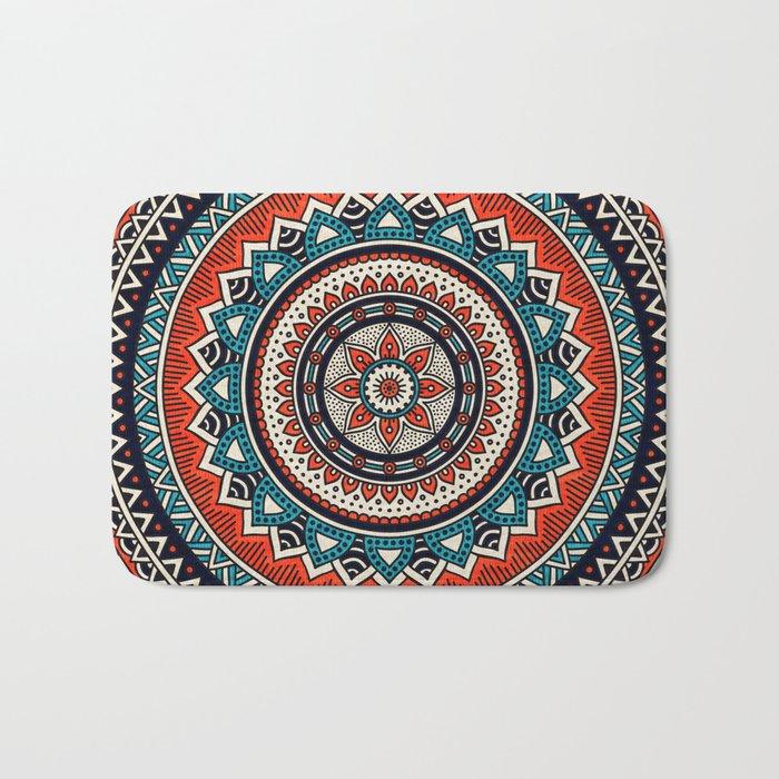 Hippie Mandala 8 Bath Mat