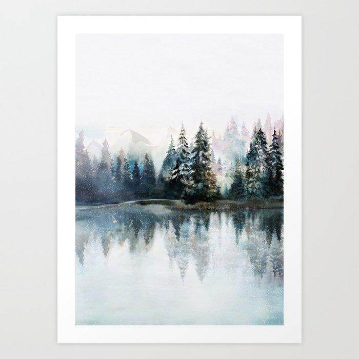Winter Morning Kunstdrucke