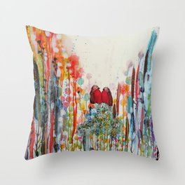 been loving you for always Throw Pillow