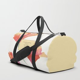 It would be a privelege...Augustus Waters. The Fault in Our Stars. Duffle Bag