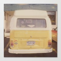 vw bus Canvas Prints featuring VW Bus by Kristine Ridley